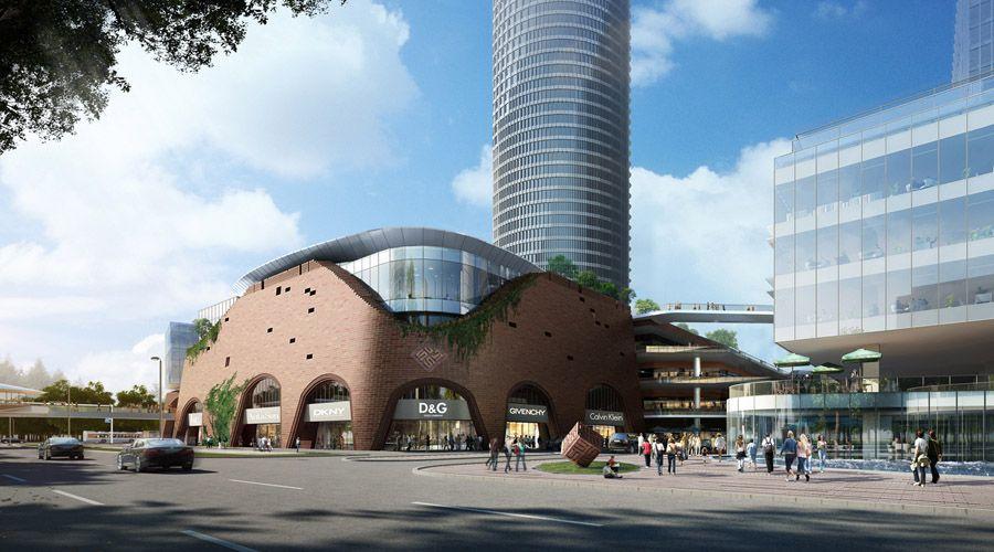 南京砂之船奥特莱斯艺术商业广场