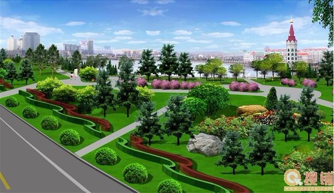 规划四大板块:人文公园