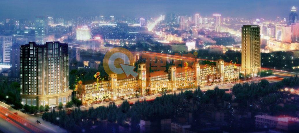 锦天·御林道·美食文化休闲广场