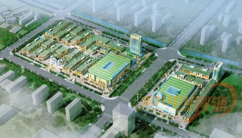蒙城广场平面图