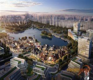 大渔湾湖滨风情商业街区