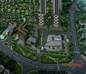 侨建御溪谷商业广场
