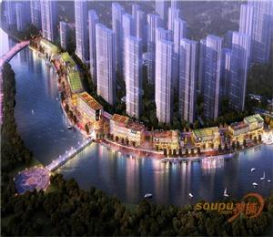 乌沙河水悦城