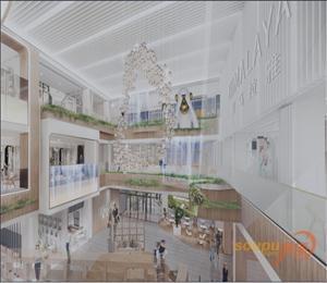 天塔喜马拉雅城市会客厅