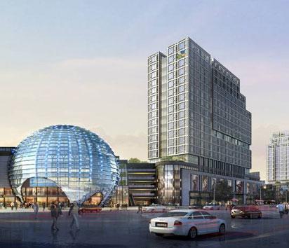 成都龙湖北城天街 项目简介:龙湖北城天街项目位于