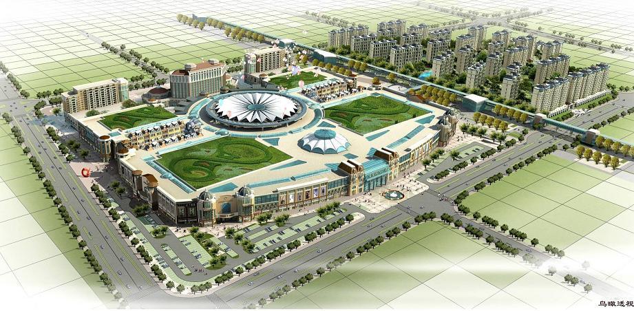 以宝龙城市广场为核心,将形成青岛最具发展潜力和投资价值的新商圈.