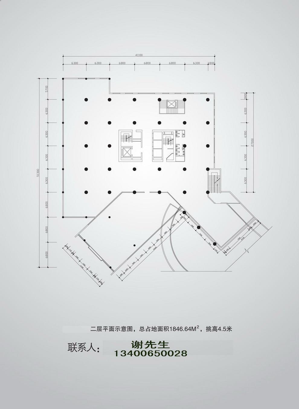 商场地面平面图设计